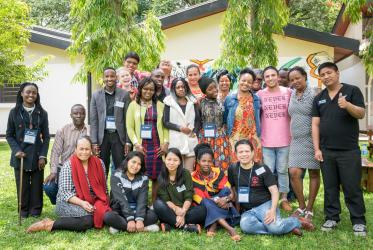 Indigenous youth pre-conference, Arusha, Tanzania, 5-7 March 2018, ©WCC