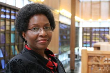 Dr Isabel Apawo Phiri, deputy general secretary of the WCC. Photo: Ivars Kupcis/WCC