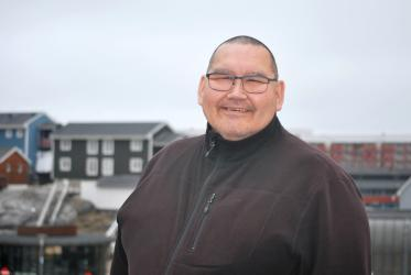 John Johansen, dean at the diocese of Greenland. Photos: Claus Grue/WCC