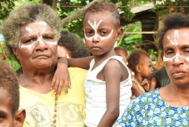 Women and children are the first victims of deforestation and destruction of  environment in Papua. All photos: Marion Unger/WCC