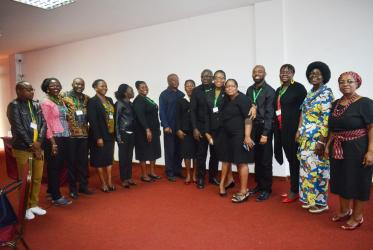 Participants of the Human Resources and Church Leadership for Diakonia and Development training in Maputo, Mozambique. Photo: AACC