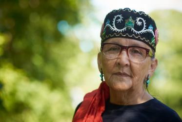 Ojibwe Elder Mary Lyons is one of many indigenous leaders calling for justice and change. Photo: Martina Thalhofer