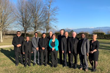 Staff of both the PCID and the Office of Interreligious Dialogue and Cooperation of the WCC . Photo: WCC
