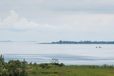 Lake Victoria, seen from Kampala, Uganda, 2017. Photo: Albin Hillert/WCC