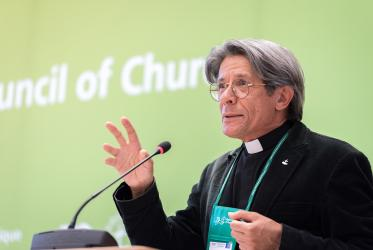 Rev. Dr Odair Pedroso Mateus, director of the Faith and Order Commission of the WCC. Photo: Albin Hillert/WCC