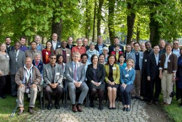 Participants in the WCC meeting of the Ecumenical Officers Network in Bossey, Geneva. © WCC/Albin Hillert