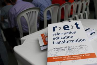 The r-e-t project has been set up in the context of the 500th anniversary of the Reformation in 2017. © Marcelo Schneider/WCC