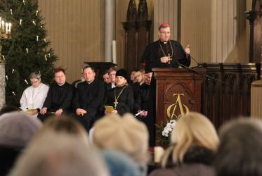 Ecumenical Service in St James Cathedral, Riga. © Ivars Kupcis