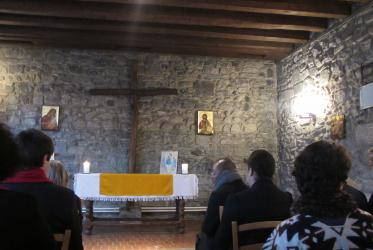 In the chapel, on the day of the graduation ceremony. © WCC/Marianne Ejdersten