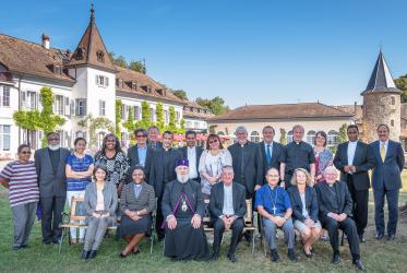 Participants of the meeting at the Ecumenical Institute, Bossey.