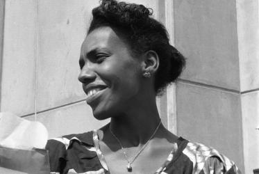 Rena Karefa-Smart at the WCC's 2nd Assembly, Evanston, 1954.