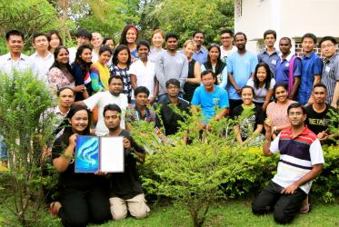 Participants in YATRA 2014 in Cambodia. Photo: WCC/Janith Demel
