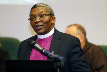 Bishop Malusi Mpumlwana, general secretary of the South African Council of Churches. Photo: Peter Kenny/WCC