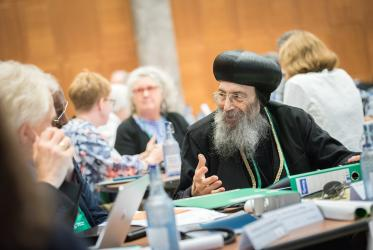 Plenary session of the WCC Central Committee meeting. Photo: Albin Hillert/WCC
