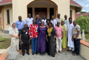 WCC workshop on trauma healing gathered participants from Nigeria, Sierra Leone and South Sudan. Photo: WCC