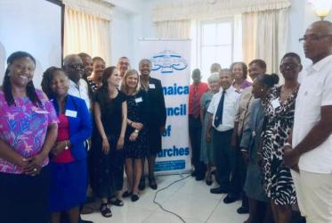 WCC workshop with the Jamaica Council and Churches from the Caribbean and North America Council for Mission, with presenters from OHCHR and UNICEF. Photo: WCC