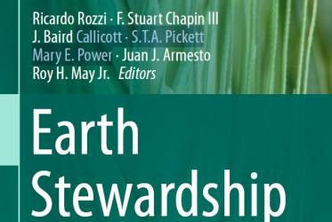 Book cover of Earth Stewardship: Linking Ecology and Ethics in Theory and Practice. © Springer