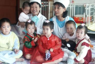The ecumenical family has pleged to continue its support for example to children's homes in North Korea. Photo: Callie Long, ACT International, November 2003.
