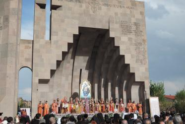 Service of canonization of the victims of the Armenian genocide. Photo:WCC/Marianne Ejdersten