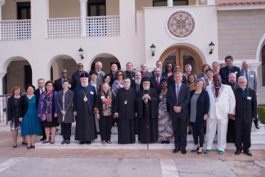 The WCC Executive Committee meet in Paralimni, Cyprus. © WCC/Charis Vrahimis