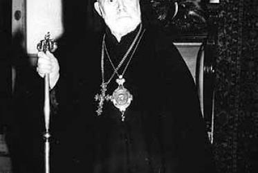 Metropolitan Germanos of Thyateira, one of the first six presidents of the WCC at its foundation in 1948, Photo: WCC Archives