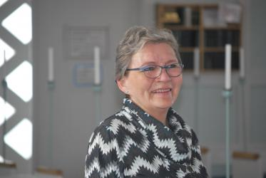 Rev. Marianne Platou Olsen, leads the Church of Greenland's Northern Deanery.  Photo: Claus Grue/WCC