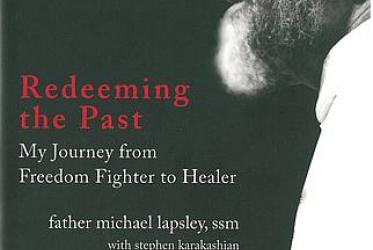 Book cover of Michael Lapsley's memoirs