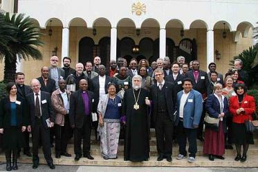 "Participants of the WCC consultation on ""conciliar ecumenism"" in Lebanon, 2012. © Photo Markar/Armenian Catholicosate of Cilicia"